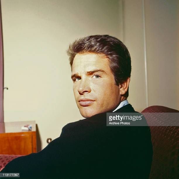 American actor Warren Beatty poses in the 1960's