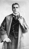 American actor William Gillette in the lead role of the first production of 'Sherlock Holmes'Playwright William Gillette Arthur Conan Doyle