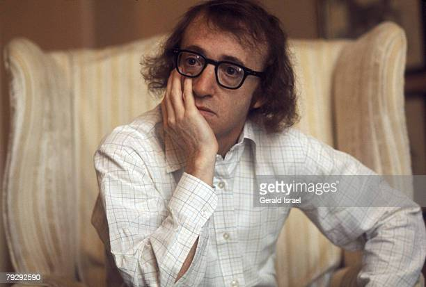 American actor writer comedian and musician Woody Allen circa 1973