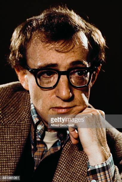 American actor writer director and musician Woody Allen circa 1975