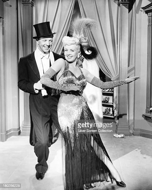 American actors Betty Grable as Kitty Moran and Dan Dailey as Jack Moran in 'My Blue Heaven' directed by Henry Koster 1950