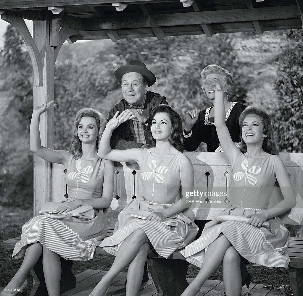linda henning stock photos and pictures getty images american actors edgar buchanan bea benaderet and front row from left american actresses linda henning jeannine
