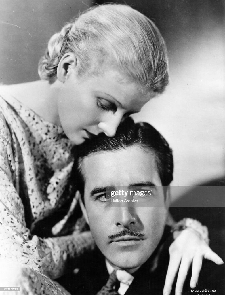 American actors John Boles and Ann Harding star in 'The Life of Vergie Winters' directed by Alfred Santell for RKO