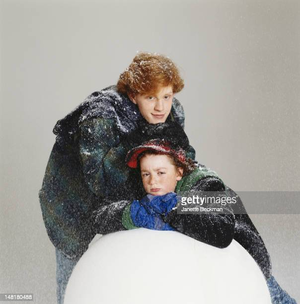 American actors Mike Maronna and Danny Tamberelli Florida 1994 They play Big Pete and Little Pete respectively in the Nickelodeon TV show 'The...
