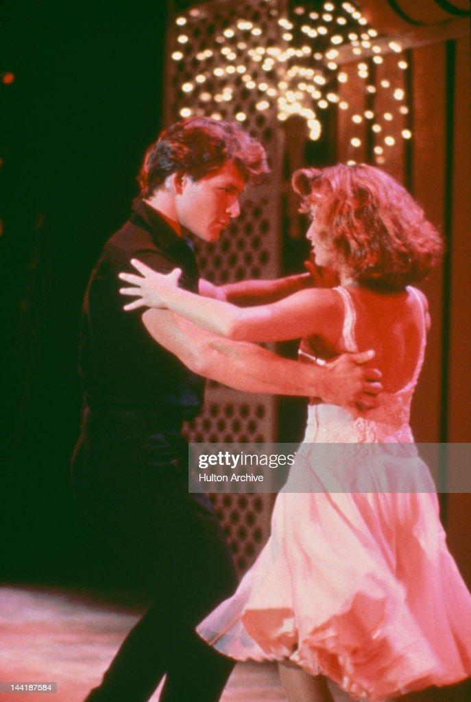 American actors Patrick Swayze and Jennifer Grey star in the film 'Dirty Dancing' 1987