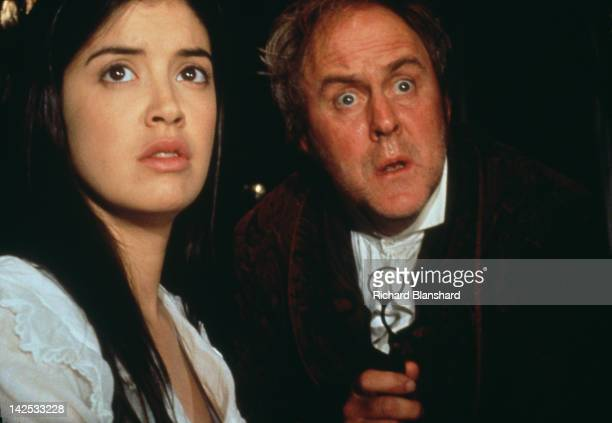 American actors Phoebe Cates and John Lithgow in the film 'Princess Caraboo' 1994