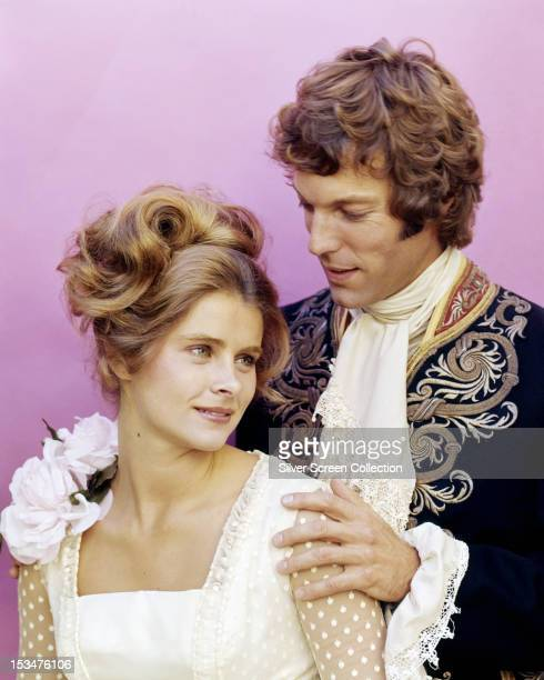 American actors Richard Chamberlain as Edmond Dantes and Taryn Power as Valentine De Villefort in the TV movie 'The Count of MonteCristo' directed by...