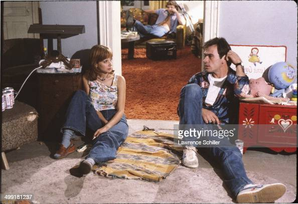 American actors Rosanna Arquette and Tommy Lee Jones in a scene from the madefortelevision movie 'The Executioner's Song' Utah 1981 Jones won the...