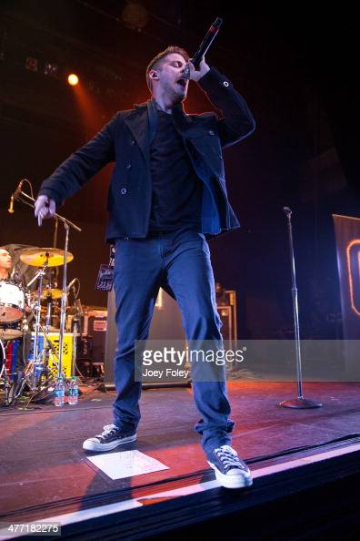 American actor/singer Tony Oller of MKTO performs live onstage at Egyptian Room at Old National Centre on February 16 2014 in Indianapolis Indiana