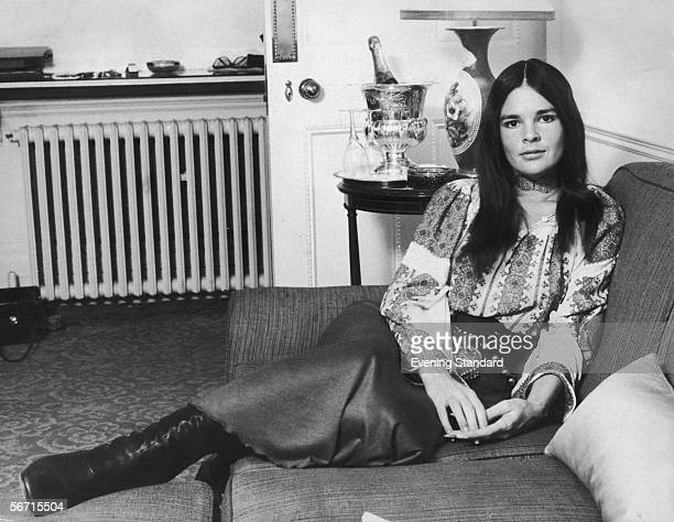 American actress Ali MacGraw 8th March 1971