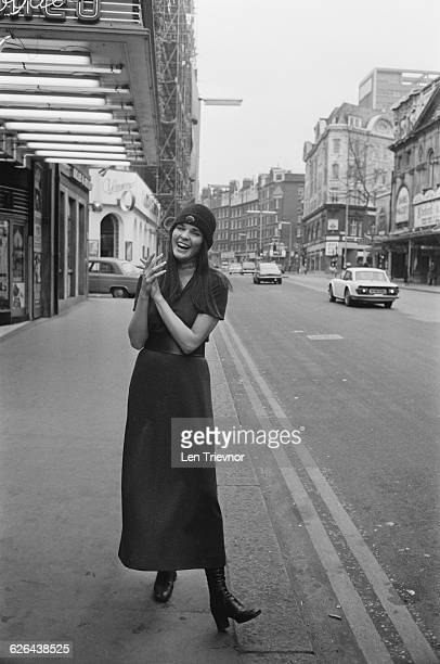 American actress Ali McGraw during rehearsals for the premiere of the film 'Love Story' at the Odeon Leicester Square London 7th March 1971