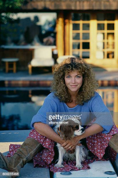 American actress Amy Irving wife of director screenwriter and producer Steven Spielberg