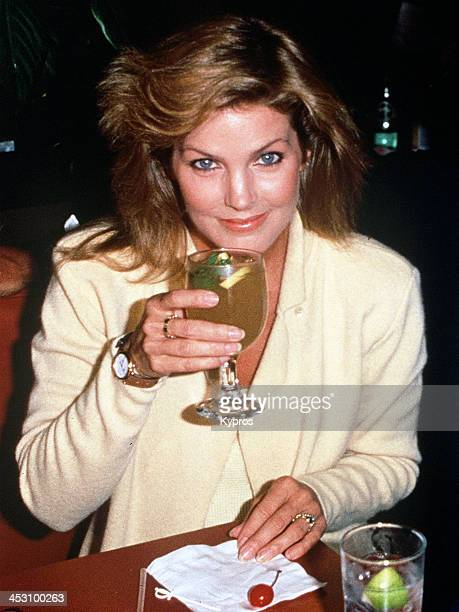 American actress and businesswoman Priscilla Presley circa 1990