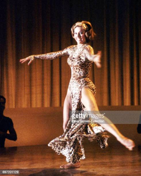 American actress and dancer Cyd Charisse as Vicki Gaye in the film 'Party Girl' 1958