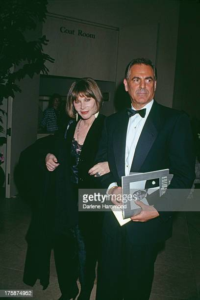 American actress and director Lee Grant with producer Joel Dean at the AFI Life Achievement Award ceremony Los Angeles 12th March 1992 The honoree is...
