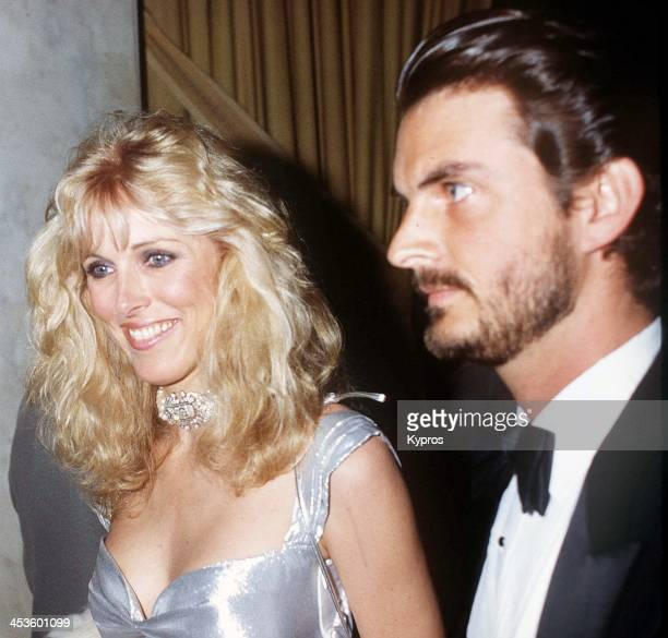 American actress and former model Alana Stewart with film producer Joshua Donen circa 1984