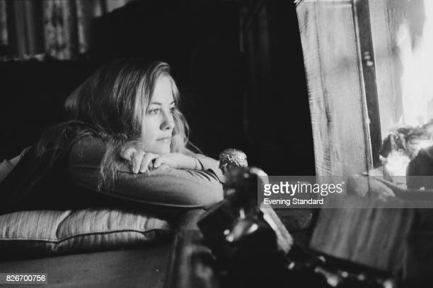 American actress and former model Cybill Sheperd at Claridge's Hotel London 24th February 1978