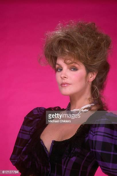 American actress and former wife of rock legend Elvis, Priscilla Presley.