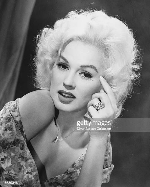 American actress and model Mamie Van Doren circa 1955