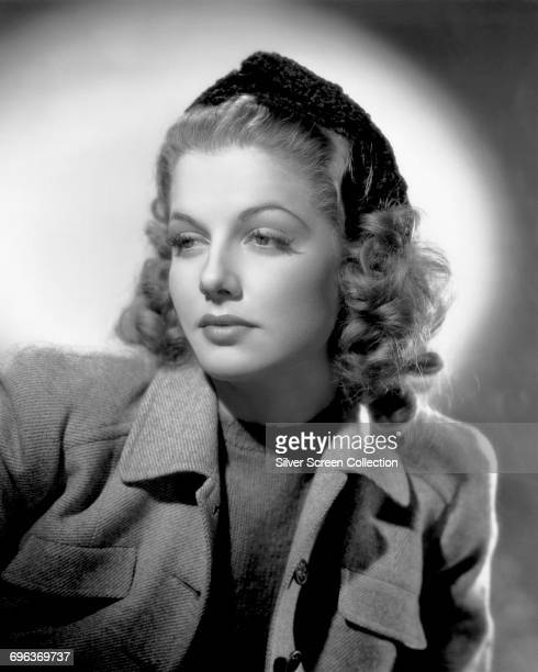 American actress and singer Ann Sheridan as Jill Baxter in the film 'Winter Carnival' 1939