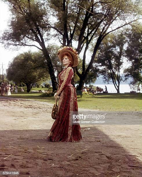 American actress and singer Barbra Streisand as she apprears in 'Hello Dolly' directed by Gene Kelly 1969