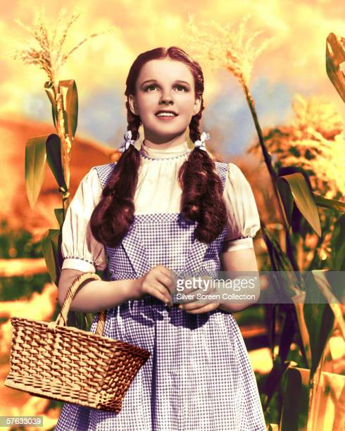American actress and singer Judy Garland as Dorothy Gale in 'The Wizard of Oz' 1939