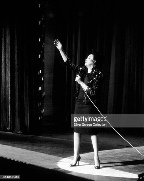 American actress and singer Judy Garland as Jenny Bowman in 'I Could Go On Singing' directed by Ronald Neame 1963