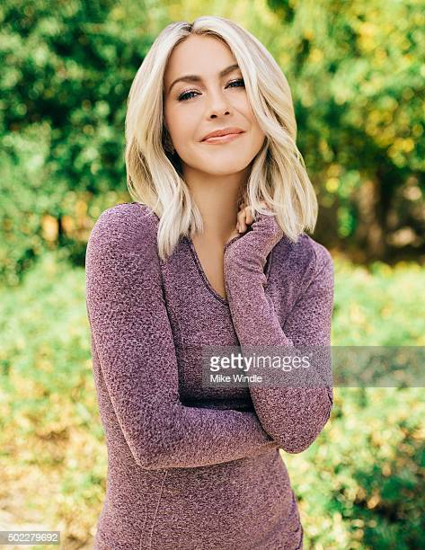 American actress and singer Julianne Hough is photographed for on November 23 2015 in Los Angeles California