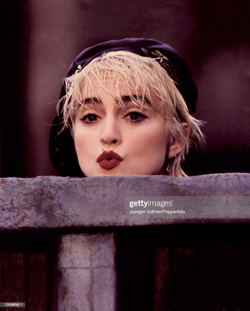 American actress and singer Madonna stars in the film 'Who's That Girl?', 1987.