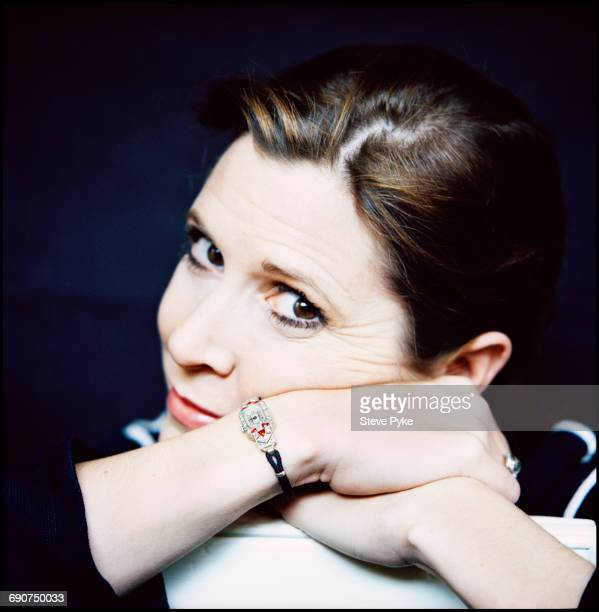 American actress and writer Carrie Fisher London 18th April 1993