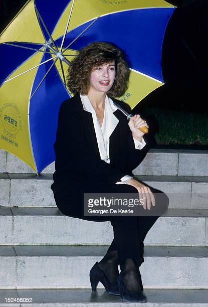 American actress Anne Archer in London to promote the film 'Fatal Attraction' 13th January 1988