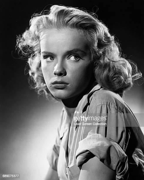 American actress Anne Francis in a publicity still for the film 'So Young So Bad' 1950