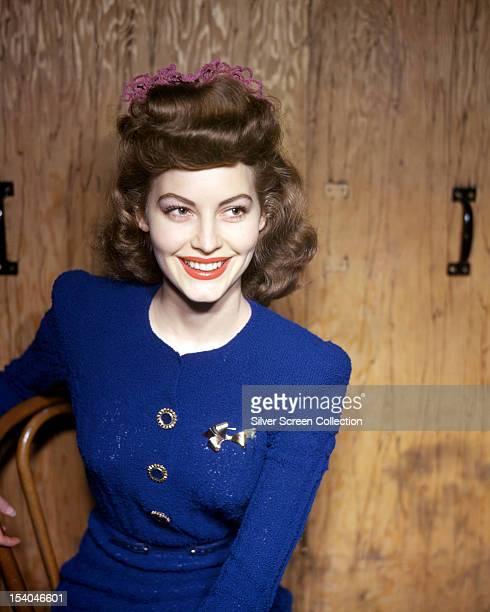 American actress Ava Gardner circa 1955