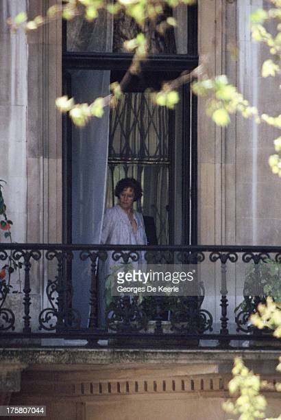 American actress Ava Gardner in 1990 ca in London England