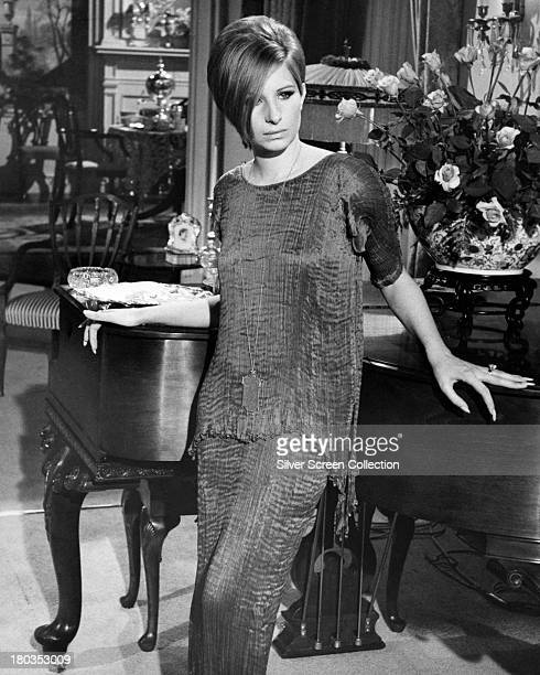 American actress Barbra Streisand as Fanny Brice in a promotional portrait for 'Funny Girl' directed by William Wyler 1968