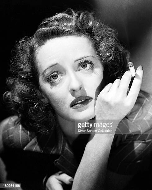 American actress Bette Davis as Judith Traherne in a promotional portrait for 'Dark Victory' directed by Edmund Goulding 1939