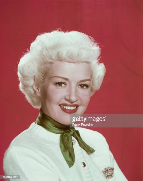American actress Betty Grable as Kitty Moran in the 20th Century Fox film 'My Blue Heaven' 1950