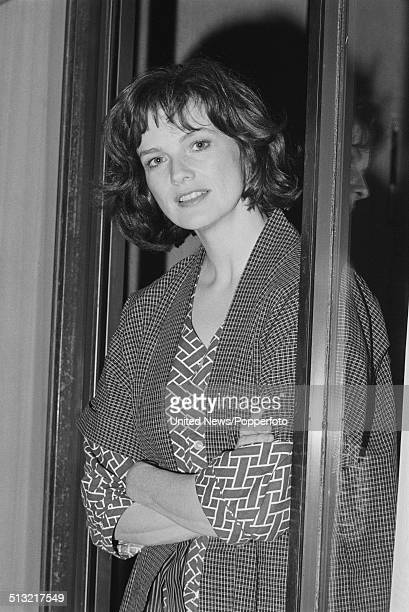 American actress Blair Brown posed in London on 15th November 1983