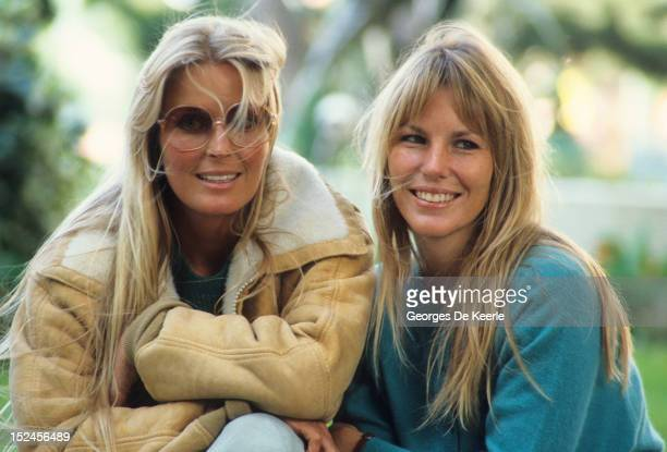American actress Bo Derek and her sister Carey UK 30th September 1984
