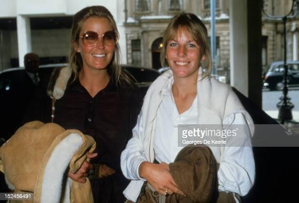 American actress Bo Derek and her sister Carey UK 30th September 1984
