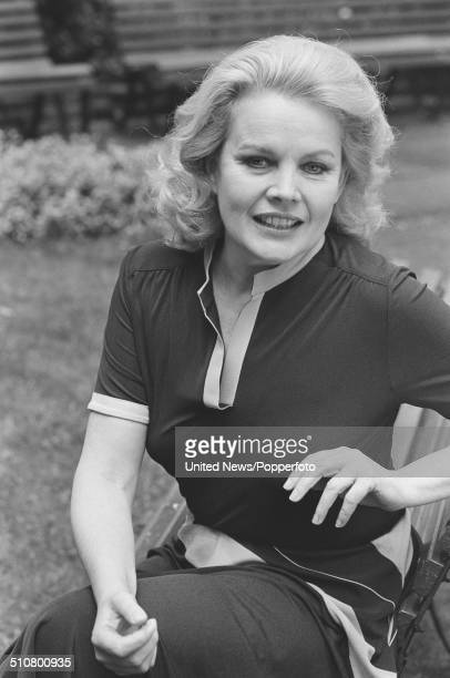 American actress Carroll Baker posed in London on 17th May 1984