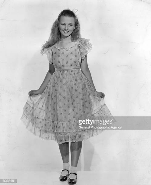 American actress Charlotte Henry as she appears in the title role of the film 'Alice in Wonderland' a Paramount production directed by Norman Z McLeod