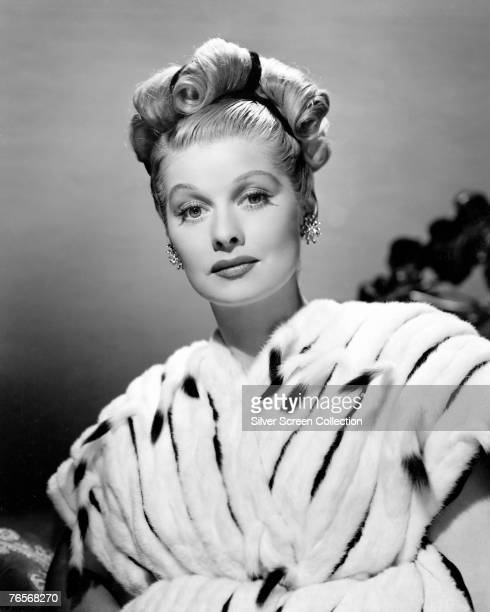 American actress comedian and TV executive Lucille Ball circa 1940