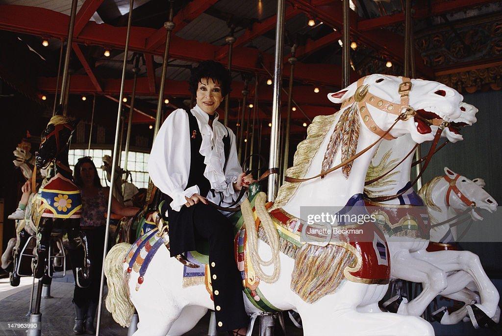 American actress, dancer and singer Chita Rivera, New York City, 1987.