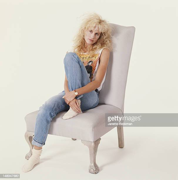 American actress Daryl Hannah New York City 1987