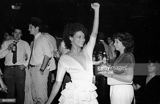 American actress Debbie Allen at Studio 54 in New York City circa 1975