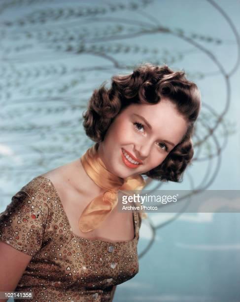 American actress Debbie Reynolds circa 1955
