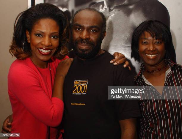 American actress director and organiser of the Jamerican Film Festival Sheryl Lee Ralph with Menelik Shabazz and Joy Coker attending the 3rd...