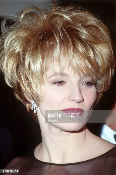 American actress Ellen Barkin circa 1992