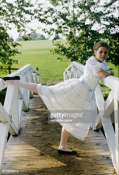 American actress Fairuza Balk child actress in the film Valmont